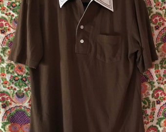 Vintage 70s Collared Polo