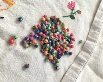 125-6mm Polymer Clay Beads
