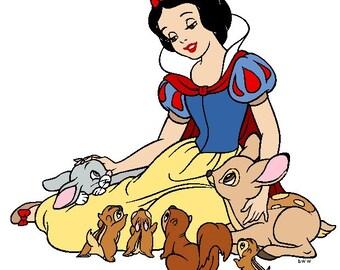 Disney Snow White Iron On Shirt Transfer  #4