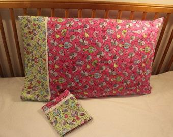 Bird Standard Size Pillowcase Set