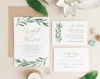 wedding invitations & paper | etsy, Wedding invitations