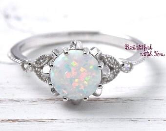 womens opal ring opal ring womens opal wedding ring wedding ring wedding