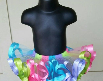 Bright, colorful tutu ONLY