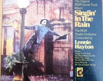 MGM Orchestra– Singin' In The Rain Original Movie Sound Track (Vinyl LP)