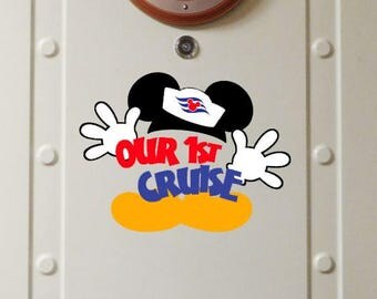 Our First Disney Cruise - Sailor Magnet