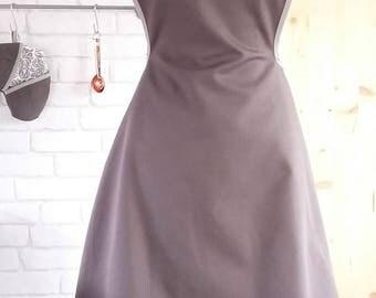 Alice - woman apron apron - grey