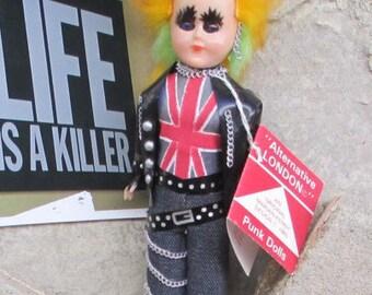 "Marian Kenny ""Alternative London"" punk doll with tag"