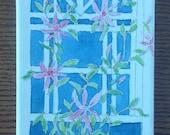 Watercolor Flowers, Flora...