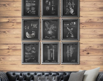 Dental office decor Set of 9 Unframed prints, Dentistry decor Dentistry Art, gift for dentist, Dental art, Dental gifts, dental lab decor