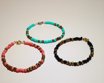 Secret Message Bracelets (Made-to-Order)