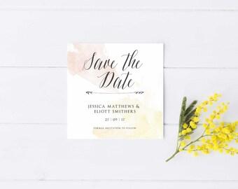 Minimal Save the Date - Printable Design
