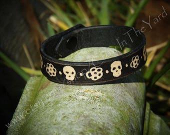 """Leather Bracelet/Anklet 6"""""""