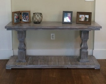 Statesman Console Table
