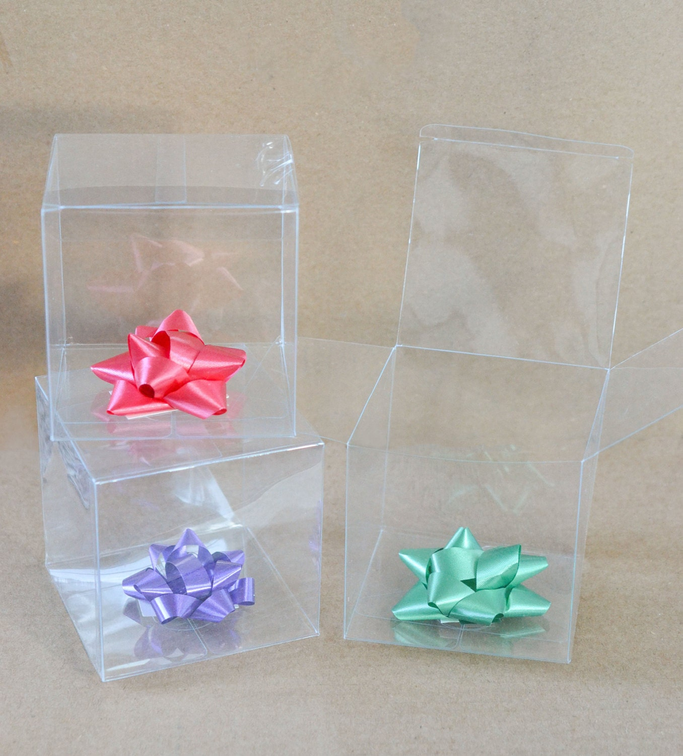 Clear Party Favor Boxes Michaels : Clear favor boxes gift party
