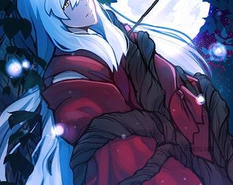 Inuyasha Print | Poster, Inuyasha, Anime, Inu, Anime Gift