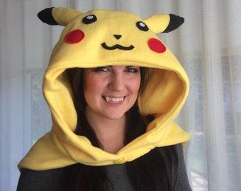 Pikachu/ Pokemon Gamer Hood