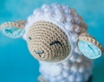 Crochet Little Lamb Plush