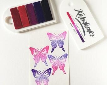 Berry Blaze Ink Pad, Kaleidacolor Inkpad, Purple Pink Colors, Stamp Inkpad, Rainbow Dye Inkpad