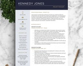 Professional CV Template for Word and Pages / Creative CV Design | Resume Template, Curriculum Vitae, Professional CV Creative Template