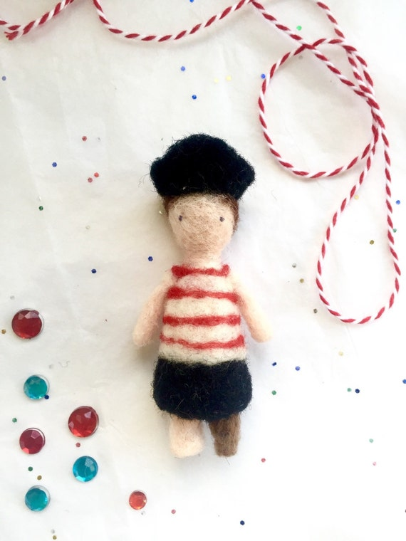 Mini Pirate Doll