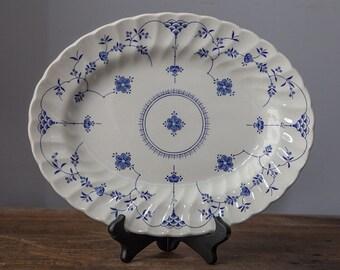 """Myott Finlandia 12.5"""" Oval Ironstone Platter"""
