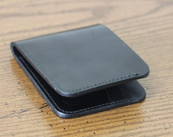 Horween Shell Cordovan wallet- Black