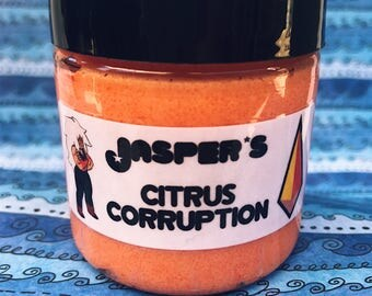 Jasper's Citrus Corruption Orange Dreamsicle Scented Whipped Sugar Scrub