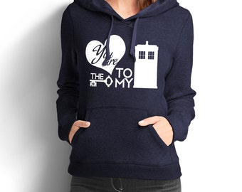 "Doctor Who Inspired ""You are the Key to my TARDIS"" Women's Hoodie"