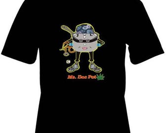 Ms DocPot Pothead - Design on Front and Back