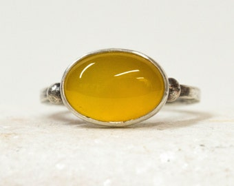 Silver ring, Gift for her, Gemstone ring, Sterling silver ring, Agate ring, Statement ring, Ring for women, Gemstone jewelry, Handmade ring