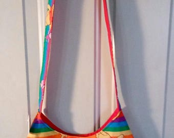 Ladies Purse Shoulder Bag Handbag Pocketbook WINNIE THE POOH Print 17-9