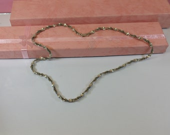 Necklace silver turned 925 Italy vintage SK916