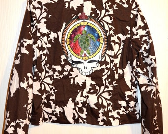 Grateful Dead Clothing Terrapin Stealie Jacket Size Large!