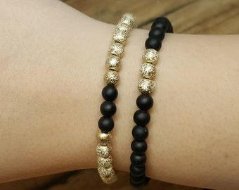 Best Friend Bracelets, Couple Bracelets, Distance Bracelets, Long Distance Relationship Bracelet, Couple Jewelry, LDR Bracelets, His Hers
