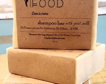 Shampoo Bar with Olive Oil & Goat Milk - 4.5 oz