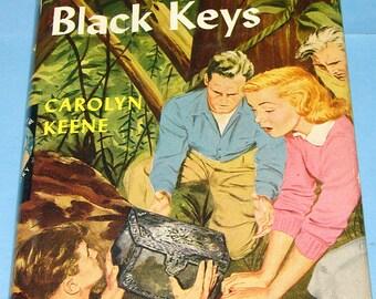 Nancy Drew #28 Clue of Black Keys Orig Text DJ