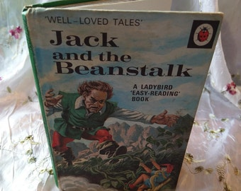 Vintage Ladybird book - Jack and The Beanstalk