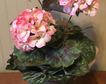 Pink Geranium Arrangement