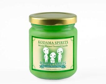 Kodama Spirits - Princess Mononoke Inspired Scented Soy Candle