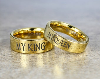 king and queen wedding rings show 17 i am the only thing i can chat 5314