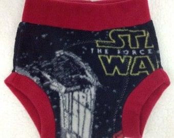Star Wars Fleece Soaker Cloth Diaper Cover