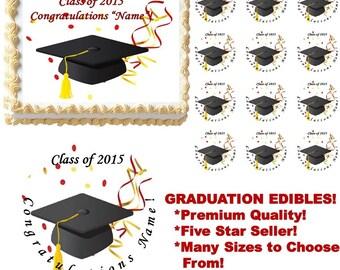 Graduation Class of 2017 Edible Cake Topper Image, Graduation Cakes, Graduation  Cupcakes, Graduation Supplies, Graduation Ceremony Cake