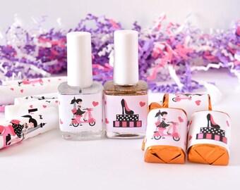 90 Paris Party Favor Labels, Paris Candy Wrappers, Paris Birthday Supplies, Paris Party Decoration, Stickers for Hershey® Mini Bar Candy