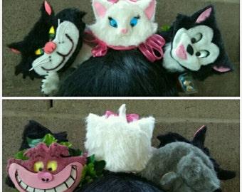 light up Disney cat ears/Cheshire cat ears/Marie ears/Figaro ears/Lucifer ears/cat ears/minnie ears/mickey ears/light up ears/Mouse ears