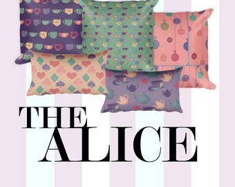 alice in wonderland pillows alice in wonderland mad hatter decor wonderland decor alice in wonderland homewares