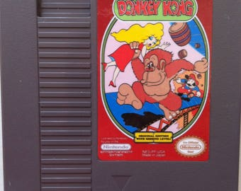 Donkey Kong Pie Factory - NES Reproduction