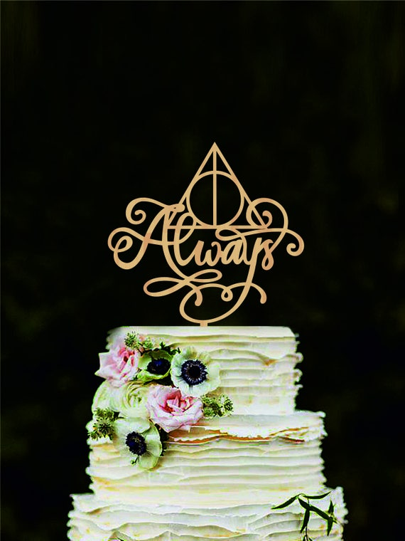 harry potter cake topper harry potter wedding cake topper always cake topper harry 4731