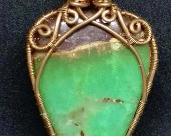 Copper and Chrysoprase
