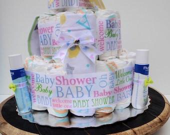 Standard Diaper Cake: Baby, Gender Neutral