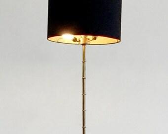 Bronze stylized bamboo - Bamboo floor lamp bronze floor lamp